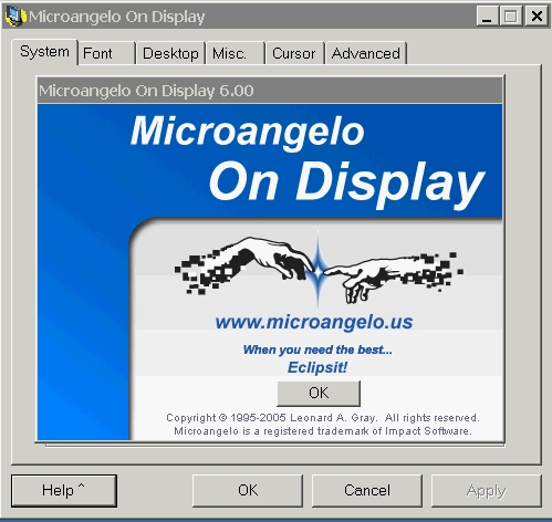 Microangelo On Display 6 (Retail version)
