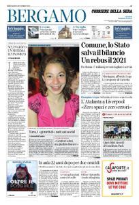 Corriere della Sera Bergamo – 25 novembre 2020