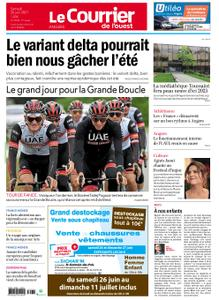 Le Courrier de l'Ouest Angers – 26 juin 2021