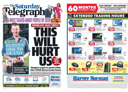The Daily Telegraph (Sydney) – December 26, 2020