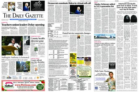 The Daily Gazette – August 19, 2020