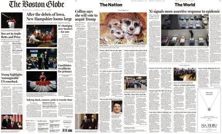 The Boston Globe – February 05, 2020