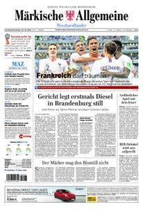 Märkische Allgemeine Westhavelländer - 07. Juli 2018