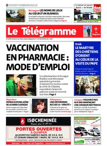 Le Télégramme Ouest Cornouaille – 06 mars 2021