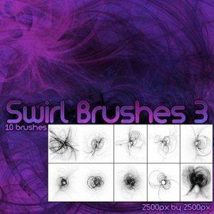 Brushes for Photoshop - Swirls