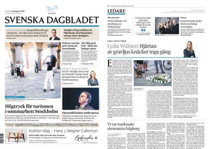 Svenska Dagbladet – 28 augusti 2019