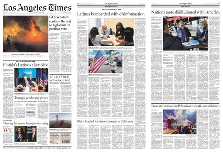 Los Angeles Times – October 27, 2020