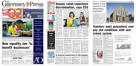 The Guernsey Press – 09 July 2019