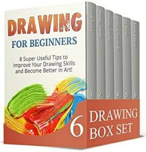 Drawing Box Set: Great Tips And Techniques To Learn How To Draw, Acrylic Painting And ZenDoodle