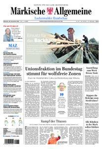 Märkische Allgemeine Luckenwalder Rundschau - 28. November 2018