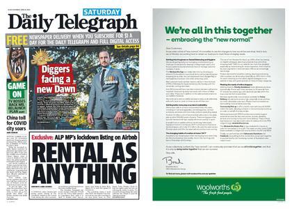 The Daily Telegraph (Sydney) – April 18, 2020