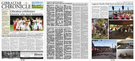 Gibraltar Chronicle – 15 October 2018