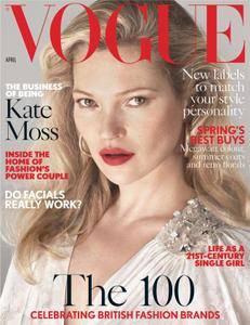 British Vogue - April 2017