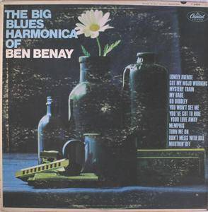 Ben Benay - The Big Blues Harmonica Of... (1966)