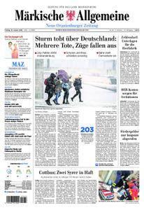 Neue Oranienburger Zeitung - 19. Januar 2018