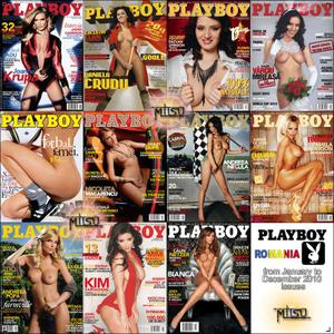 Playboy Romania - Full Year 2010 Issues Collection
