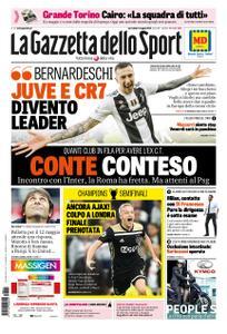 La Gazzetta dello Sport Roma – 01 maggio 2019
