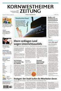 Kornwestheimer Zeitung - 24. September 2018