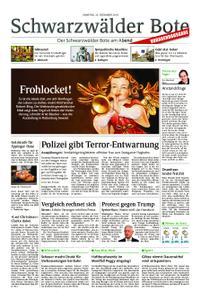 Schwarzwälder Bote Hechingen - 22. Dezember 2018