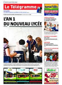 Le Télégramme Concarneau – 30 août 2019