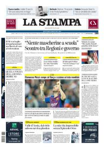 La Stampa Torino Provincia e Canavese - 26 Agosto 2020