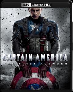 Captain America: The First Avenger (2011) [4K, Ultra HD]