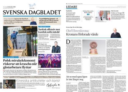 Svenska Dagbladet – 10 oktober 2019