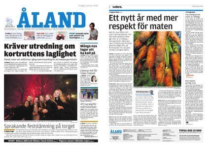 Ålandstidningen – 02 januari 2018