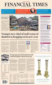 Financial Times Europe – 24 December 2018