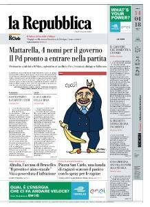 la Repubblica - 14 Aprile 2018