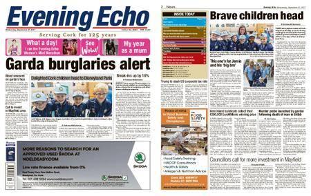Evening Echo – September 27, 2017