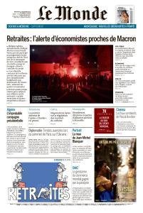 Le Monde du Mercredi 11 Décembre 2019
