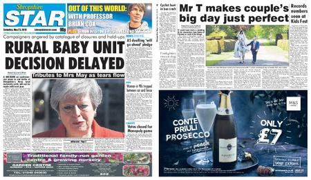 Shropshire Star Shrewsbury Edition – May 25, 2019