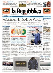 la Repubblica - 23 Ottobre 2017