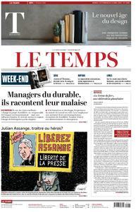 Le Temps - 13 avril 2019