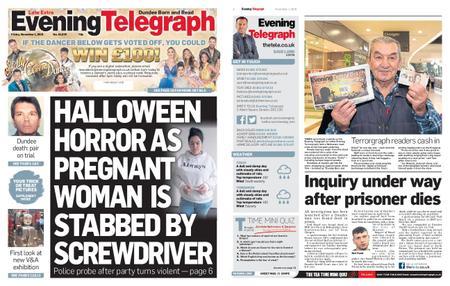 Evening Telegraph First Edition – November 01, 2019