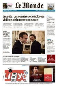 Le Monde du Vendredi 24 Novembre 2017