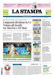 La Stampa Torino Provincia e Canavese - 22 Giugno 2018