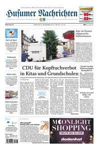 Husumer Nachrichten - 22. November 2019