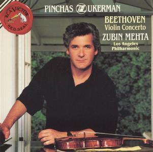 Pinchas Zukerman, Marc Neikrug, Zubin Mehta - Beethoven: Violin Concerto, Violin Sonata No. 10 (1992)