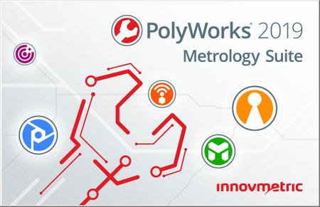InnovMetric PolyWorks Metrology Suite 2019 IR3.1 Multilingual (x86 / x64)