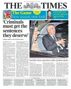 The Times - 12 August 2019