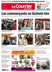 Le Courrier de l'Ouest Angers – 24 avril 2020
