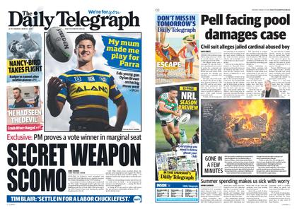 The Daily Telegraph (Sydney) – March 04, 2019