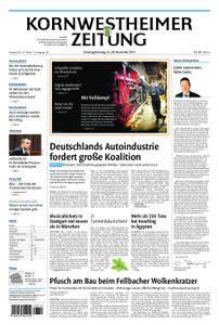 Kornwestheimer Zeitung - 25. November 2017