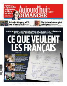 Aujourd'hui en France du Dimanche 20 Janvier 2019