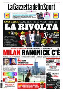 La Gazzetta dello Sport – 15 maggio 2020