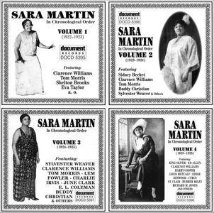 Sara Martin - In Chronological Order, Volumes 1-4 (1922-1928) (1995) 4CD