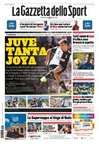 La Gazzetta dello Sport – 15 agosto 2019