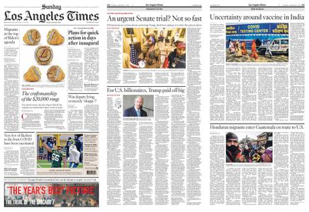 Los Angeles Times – January 17, 2021